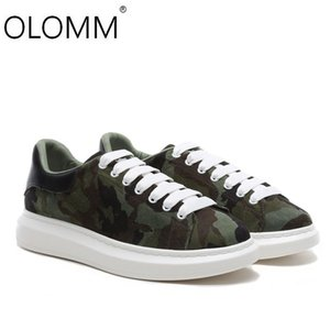 Genuine Leather 2020 New Thicker Heightened Men's Shoes Sports Casual Camouflage Shoes