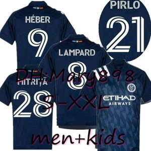 Top-Qualität New York City 2020 blaue Fußball-Jersey-Kits nycfc MLS PIRLO Moralez LAMPARD DAVID VILLA MCNAMARA MEDINA Fußball-Hemd Kinder