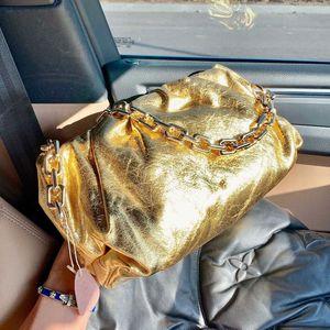 Сумка плеча Crossbody сумка сумки кожаный чехол Soft высокого качества повелительница Большие Ruched Облако сумки на ремне, Plain