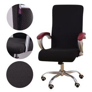 يونيفرسال مكتب نسيج جاكار كرسي غطاء الكمبيوتر كرسي دنة الأغلفة مقعد كرسي ذراع يغطي تمتد الدوارة رفع