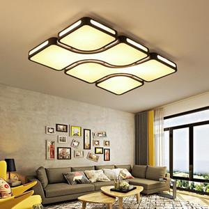 FULOC Nuovo luci di soffitto lamparas portato de techo moderna Per camera dei bambini Cucina Soggiorno plafonnier acrilico soffitto Illuminazione