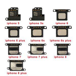 50Pcs Hörmuschel-Ohr-Lautsprecher für iPhone 5 5s 7 8 6 6S Plus-6G 7G 8G Ton Flexkabel Zuhören Teile Ersatz
