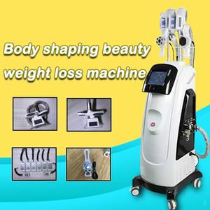 2020 nueva máquina criolipólisis 2 Cryo manija RF máquina de cavitación Velashape criolipólisis táctil de Sreen adelgaza ce