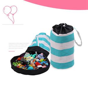 Magia de armazenamento Bucket Brinquedos Cesta de armazenamento Crianças Quarto Organizador Crianças dom Mulheres Cosmetic Organizer Makeup Bags RRA1654