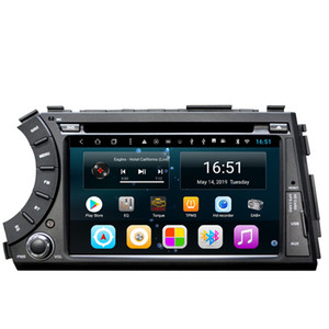 Android 7 pulgadas 8 núcleos para Ssangyong kyron korando actyon Reproductor multimedia para coche cámara frontal WIFI Bluetooth Navegación GPS Unidad principal