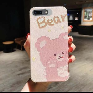 High Quality Cute Cartoon Bear Mobile Phone Case For IPhone 11 X XR XS MAX 7 8 Plus