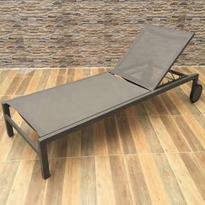 Teslin tumbona de la piscina sol con muebles de exterior de la piscina baño de sol mobiliario de jardín del patio