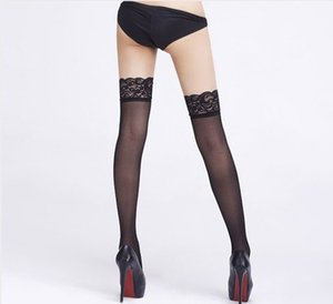 20s Sexy Women Solid Color Stocking Fashion Womens Over Knee Socks Tops Quality Female Lace Socks 5 Colors Tops Women Underwear Clothing