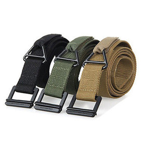 Hirigin Men's Trendy Adjustable Military Emergency Rescue Rigger Belt Casual Waistband Hot Selling Cool Adults 125CM