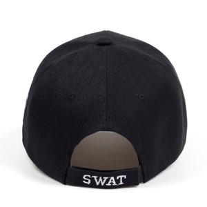 2018 tactique Cap Mens Baseball Caps Marque SWAT Cap SWAT Chapeau Casquettes Snapback coton chapeau de golf réglable Gorras Planas haute qualité