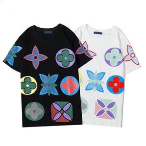 Berühmte Männer-T-Shirt Polos Männer Frauen Brief gedruckt kurzen Ärmeln Mode Herren Friseurs beiläufige Rundhals T-Shirt Größe S-XXL