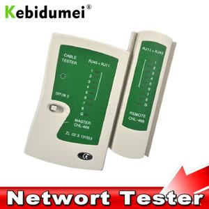 Сетевые средства kebidumei Professional Network Cable Tester 45 RJ11 RJ12 CAT5 UTP кабеля LAN тестер детектор для дистанционного тестирования сетевых инструментов