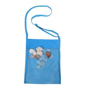 Crianças Praia malha Bolsa de toalha malha de transporte Coleção Sand Box portátil Tote Bag Kid Bola Pouch Shell Toy Storage Bag Bolsas VT0324