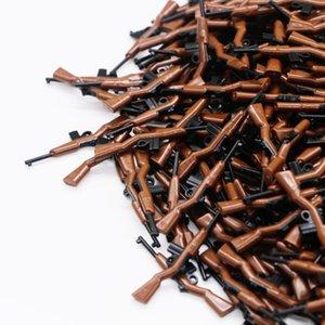 Tijolos LegoINGly armas ww2 militares armas M1 Carbine Exército Rifle Forma Mini Peças Brinquedos para crianças bloqueia Acessórios de construção