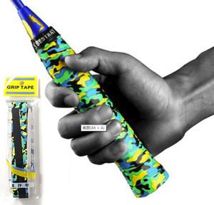 1 PC Raquete de Fita De Suor Anti-skid Absorvido Wraps Badminton Racquet Sobre Aderência De Pesca Antiderrapante Suor Banda Aderência