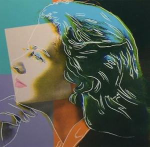 """Andy Warhol """"Ingrid Kendini"""" Handpainted HD Baskı Ünlü Portre Sanat yağlıboya, Duvar Sanatı Ev Dekor Üzerinde Yüksek Kalite Canva p204"""