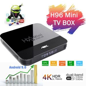 H96 H8 Mini 2GB / 16GB Android 9.0 OTT TV CAJA RK3228A Quad Core dual WiFi + 2G 5G BT4.0 PK X96 MAX TX3