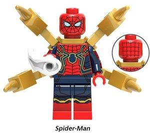500 diferente del héroe estupendo mini figuras Bloques Marvel Avengers Spiderman DC Liga de la Justicia Batman la construcción de bloques de los niños regalos