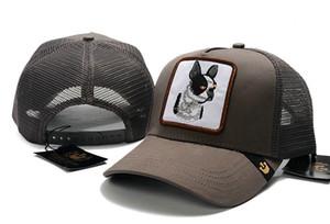 Goorin Bros serie animali Regolazione del cane del lupo di baseball lingua d'anatra Protezione netto Sun Hat Cap