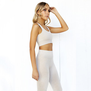 Ropa de yoga Women Stretchy Sportswears Sets High Waist Legging Sportswear Seamless Activewear Fitness Running Training Suits