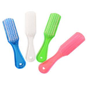 Long handle nylon silk clothing with a home cleaning shoe brush crystal plastic shoes brush household cleaning brush