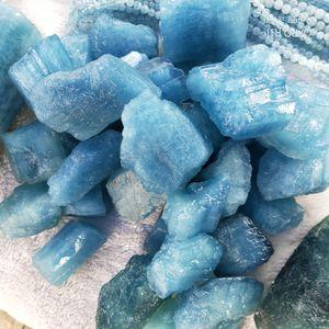 Acquamarina naturale grezzo Raw Pietra Crystal Ore Quartz Gem roccia pietre preziose pietre curative e minerali per la produzione di gioielli