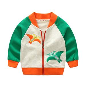 NOUVEAU enfants BOYS Vêtements Jchao Enfants Base-ball infantile Sweatershirt Mode Marque Veste Printemps Automne Bébé Outwear filles Manteau