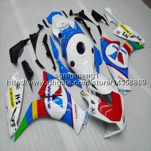 Geschenke + schrauben spritzguss rot blau weiß motorradrumpf für honda cbr1000rr 2012 2013 cbr 1000 rr abs verkleidung