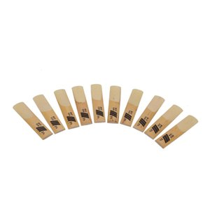 New Ruiyin Alto Saxophone Reeds Bamboo One Box de 10 Pcs Adequado para Professional Saxophone Playing