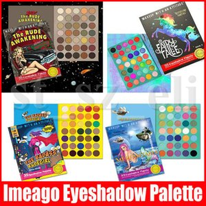 IMEAGO göz Makyaj 35 Renkler Special Edition Denizkızı göz farı Nü Işıltılı Mat 4 Styles Eyeshadows palettes