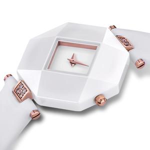 Frauen Luxus-Designer-Uhren wasserdichte Sport-Pop-Damen-Handgelenk-Lederarmbanduhr HOLUNS BRW Quarz-Geschäfts-Dame Uhr Luxus Einfacher