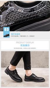 2020 Мужская обувь Мужская мода Мокасины Мужская обувь Полые дышащий Плетение Роскошные платья обувь 326