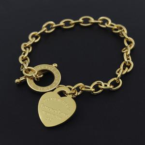 2020 Aço Inoxidável DIY homens encanto do amor pulseira da moda pressão jóias da cadeia da mão pulseiras dos homens transversais atacado para o coração das mulheres encantos