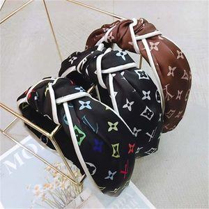 Vintage Stirnband-Blume verknotete Haarband für Frauen arbeiten IN koreanischen Mädchen-Haar-Zusätzen Fee Einfacher gestreifte Hair ZFJ724