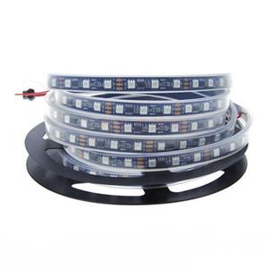 DC12V 5 M WS2811 LED Pixel bande de lumière couleur RVB 5050 Ruban flexible adressable numérique LED bande 60LED IP20 IP67 Noir CPF
