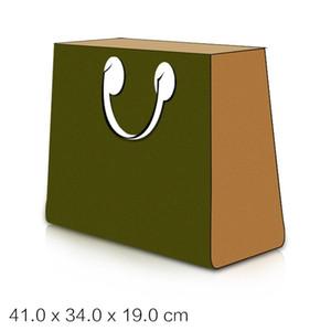TOP Качество OnTheGo Дизайнер Роскошные сумки женщин Письмо Цветок Холст сумка M44570 Дамы Повседневный Tote натуральной кожи сумки на ремне сумки кошелек