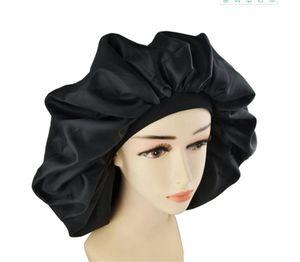 Süper Jumbo Uyku Kap, Sıçrama Korumalı Duş Başlığı, Kadınlar için Gece Gündüz Kap Saç Tedavisi Korumak Saç, Türban Bandı