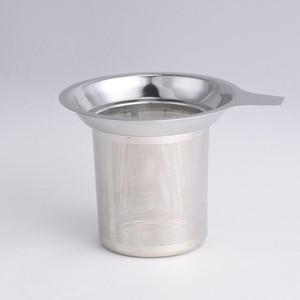 Wiederverwendbare Sieb 304 Edelstahlgewebe Cup Herbal Locking Teefilter Infuser Spice Kitchen Bar Produkte 7.5x8.8cm LXL730-1