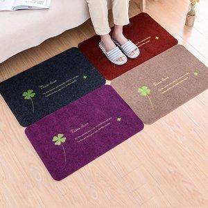Entrance Front Door Mats Wholesale Home Indoor Outdoor Decor Pad Non-slip Funny Doormat Corridor Floor Mat Welcome Rug Carpet BH0721 TQQ