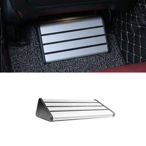 Asiento de coche Accesorios de aleación de aluminio trasera Resto del cojín del pedal del pie Paso Menaje para BMW 1 3 5 7 Serie X1 X3 X4 X5 X6
