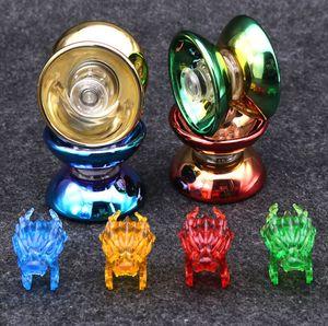 Горячая Йойо Профессиональный ручной играть в мяч Йойо Высокое качество сплава металла Йойо Классические игрушки Diabolo Волшебный подарок для детей