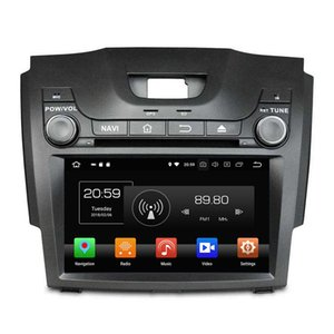 "Ips Octa Núcleo 2 din 8 ""Android 8.0 Rádio Do Carro DVD GPS para Chevrolet S10 Isuzu D-Max 4 GB RAM 32 GB ROM Bluetooth WI-FI USB Espelho-link"