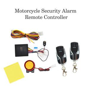 12V robo de motocicletas Protección de bicicletas Alarma antirrobo seguro de la motocicleta sistema de bloqueo de control remoto de arranque del motor