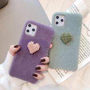 Amor de pelúcia caixa do telefone móvel para 11 capa protetora Huawei mate30 caso do telefone móvel DHL livre