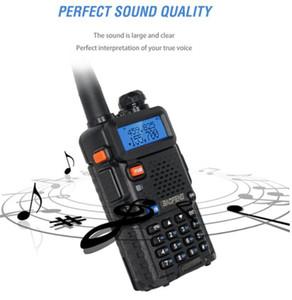BaoFeng UV-5R UV5R Walkie Talkie Dual Band 136-174Mhz & 400-520Mhz Two Way Radio Transceiver with 1800mAH Battery free earphone(BF-UV5R) DHL