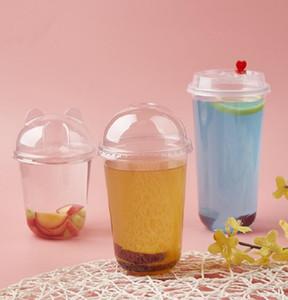 Disposble juice cups disposable 12oz 17oz 24oz large capacity juice cups hot sells items cheap customize logo accept juice cups