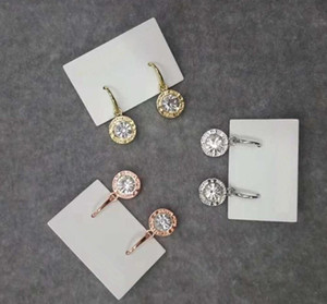 New York Stylist Earrings Fashion Crystal Drop Earrings with Big Diamond Alloy Jewelries Cheap Fashion Jewelries Women gifts GD348