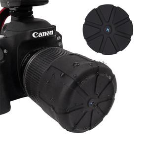 Nouveau cache-objectif en silicone, cache-objectif pour appareil photo reflex, cache-objectif étanche à la poussière et à l'eau, couvercle de protection universel Accessoires pour appareils photo