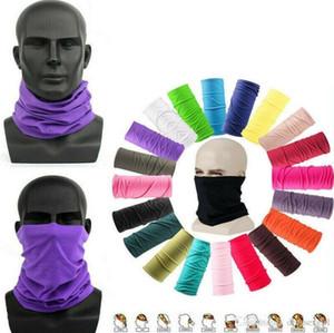 US Stock Unisex Magic Multifunctional Tube Scarf Bandana Scarf Cover Mask Neck Gaiter Headwear Beanie Austproof Outdoor Sport FY7026