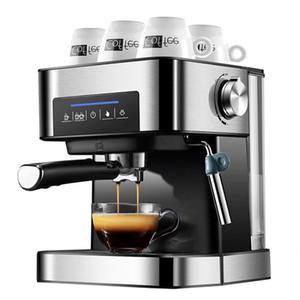 Buhar Fonksiyon ile Espresso Kahve Makinesi Makinesi 20BAR Kahve Makinesi Yarı Otomatik Ev İtalyan Kahve Makinesi